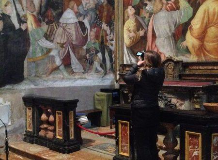 San Cristoforo a Vercelli – La madonna degli aranci
